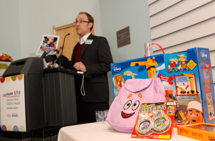 "Wisconsin Public Interest Research Group director Bruce Speight discusses the 25th annual ""Trouble in Toyland"" report, along with some of the toys highlighted in the survey."