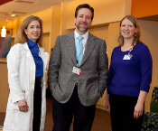 Dr. Peter Nichol and members of the Pediatric Short Gut/Intestinal Failure Clinic