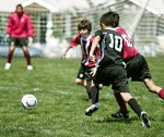UW Health Pediatric Fitness: Kids playing soccer