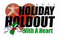 Holiday Holdout with a Heart logo