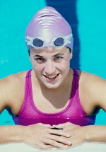 UW Health Sports Medicine Swimmers Clinic: Young girl in a pool