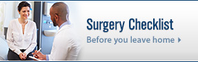 Madison Surgery Center surgery checklist promotional image