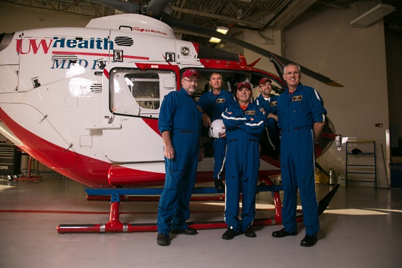 UW Health Med Flight's new satellite base will reduce response times to southwestern Wisconsin by 20 minutes.