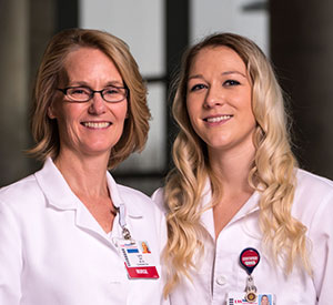 Laura Sell, MA, BSN, RN and Dani Edwards, MSN, RN, PCCN