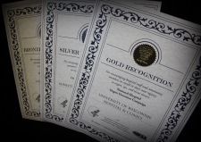 U.S Dept of Health and Human Services certificates of honor
