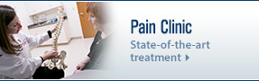 UW Health pain management Pain Clinic: Image of doctor working with patient