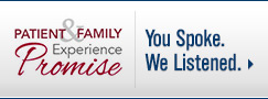 UW Health Patient and Family Experience Promise - You Spoke. We Listened.