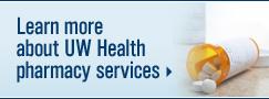 UW Health Pharmacy services