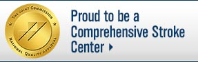 Proud to be a Comprehensive Stroke Center; University of Wisconsin Hospital and Clinics; UW Health; Madison, Wisconsin