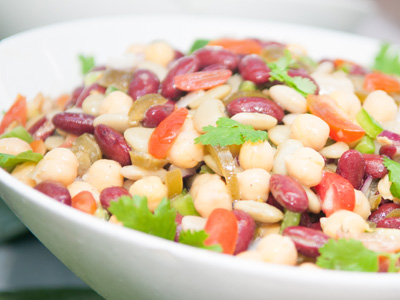 Lemon and Herb 3 Bean Salad