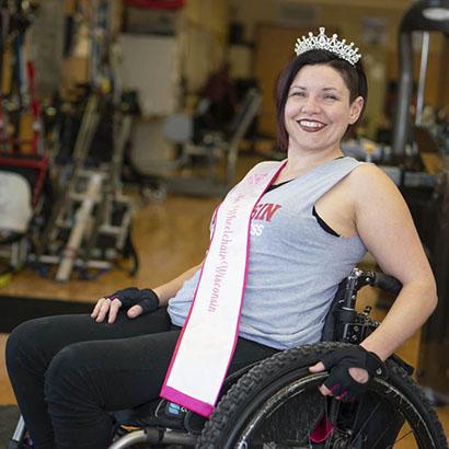 Ms. Wheelchair Wisconsin Pursues Active Adventures