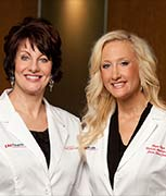UW Health Transformations Jeune Skin Care aestheticians Lisa Klein and Angie Byer