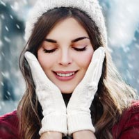 Products containing hyaluronic acid can help you maintain smooth, hydrated skin during the dry winter months