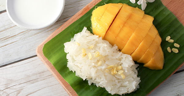 Recipe for healthier skin: Sticky Coconut Rice with Mango