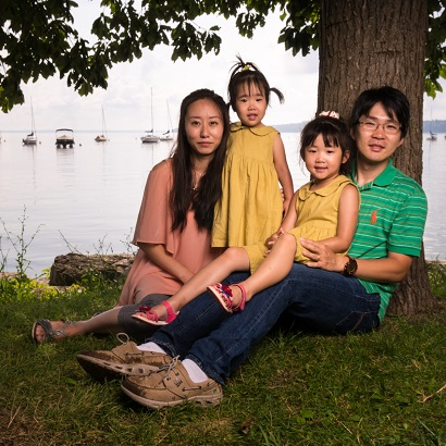 Meiyee Chen and her family