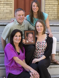 The Ketterhagen's honor their son and brother's life by helping other families in need of transplants