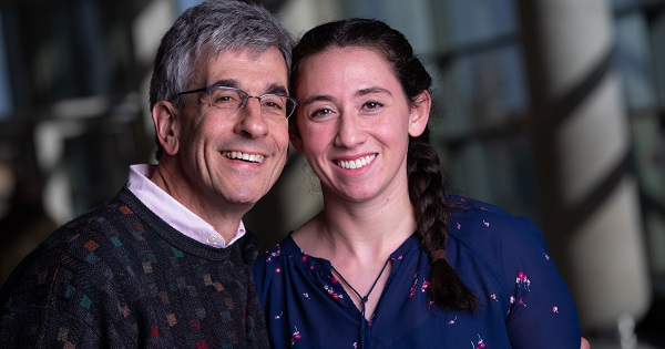 Sam Gellman donated part of his liver to his daughter through a living liver transplant at University Hospital.