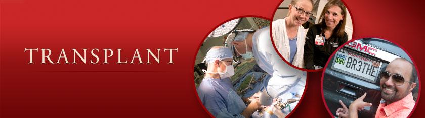 Transplant: Heart, Liver, Islet, Kidney, Lung, Pancreas, Pediatric, Living