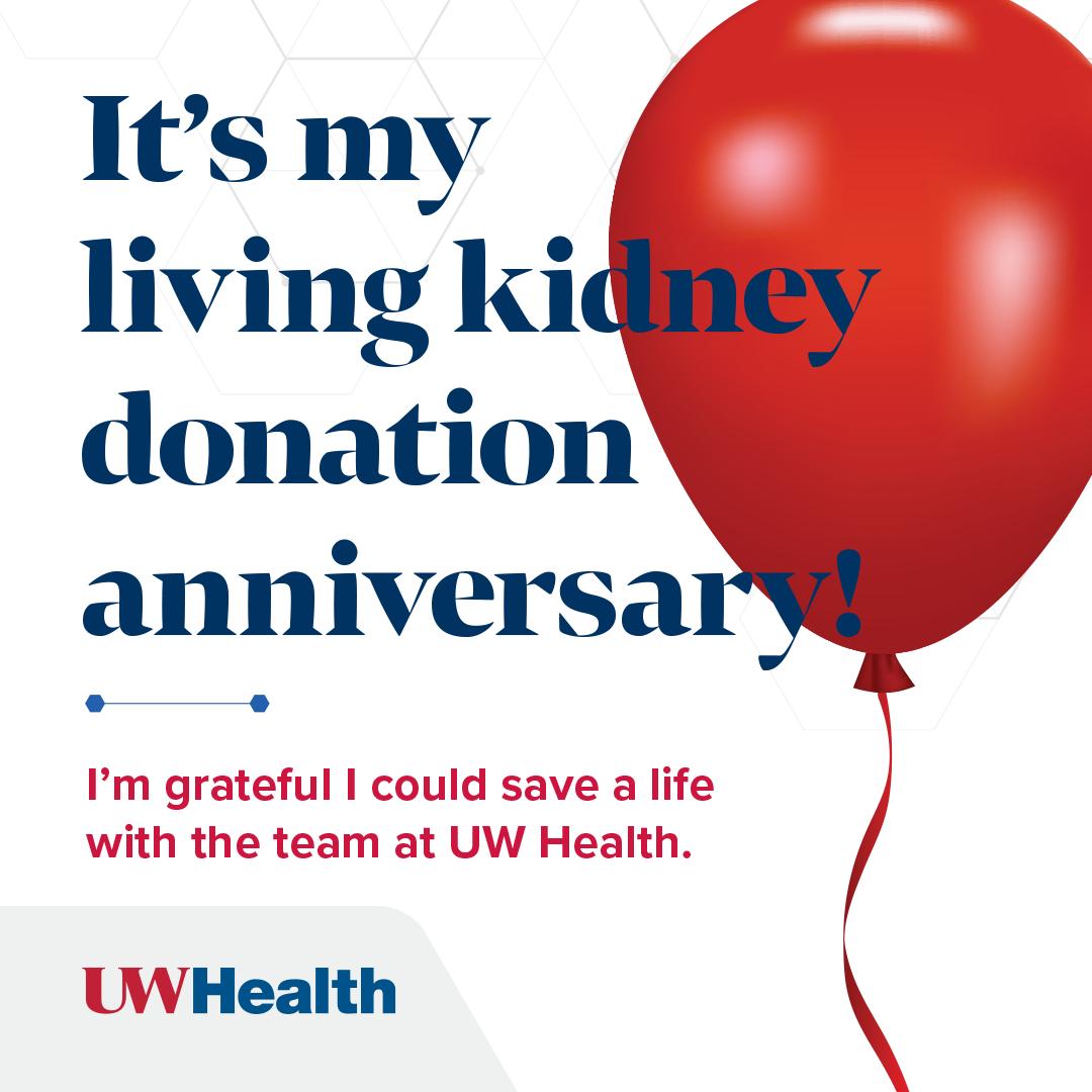 Transplant celebrate your organ anniversary uw health madison wi kidney donor liver donor m4hsunfo
