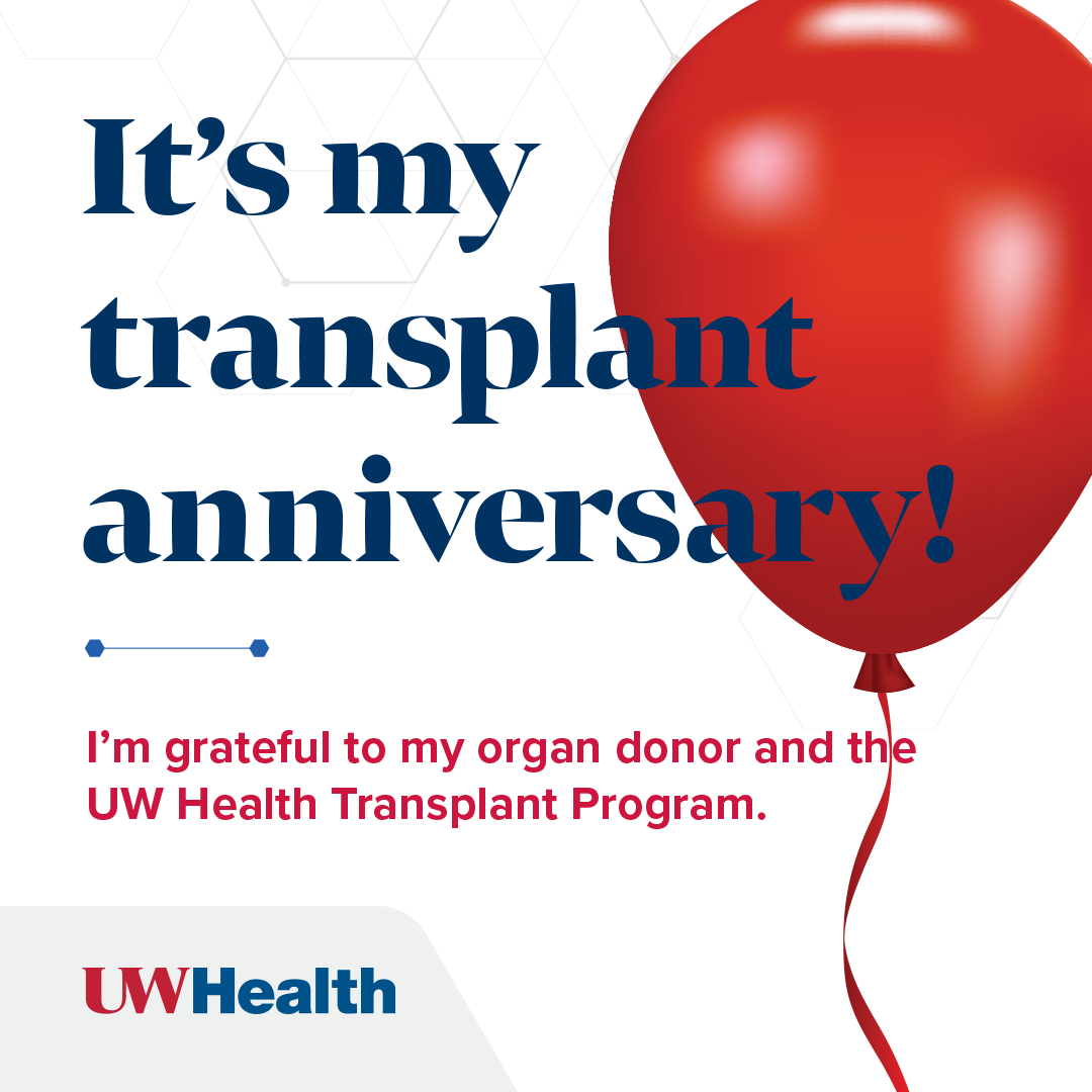 Transplant celebrate your organ anniversary uw health madison wi celebrate your organ anniversary m4hsunfo