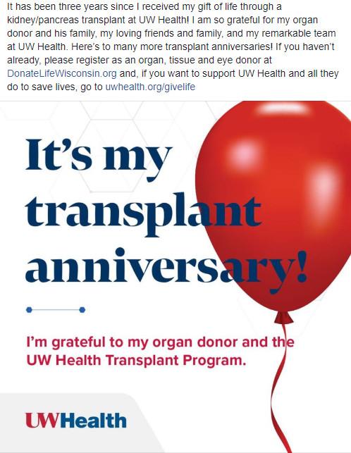 organ donor sample