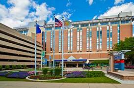 UnityPoint Meriter Hospital Entrance